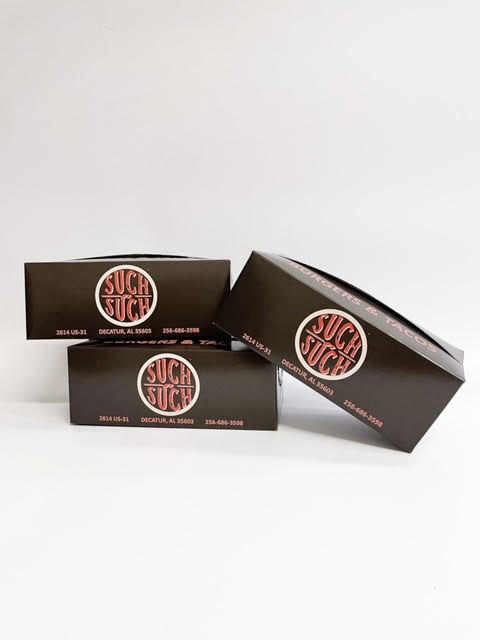 Food Safe To-Go Boxes